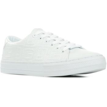 Zapatos Mujer Deportivas Moda Guess Goldenn Blanco