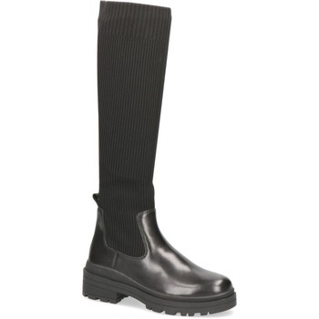 Zapatos Mujer Botas urbanas Caprice Botas Tacones Bajos Negro Black