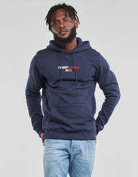 textil Hombre Sudaderas Tommy Jeans TJM LINEAR LOGO HOODIE Marino