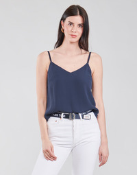 textil Mujer Tops / Blusas Tommy Jeans TJW CAMI TOP Marino