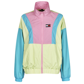textil Mujer Cortaviento Tommy Jeans TJW COLORBLOCK ZIP THROUGH Multicolor