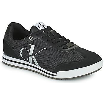 Zapatos Hombre Zapatillas bajas Calvin Klein Jeans LOW PROFILE SNEAKER LACEUP PES Negro