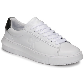 Zapatos Mujer Zapatillas bajas Calvin Klein Jeans CHUNKY SOLE SNEAKER LACEUP LTH Blanco