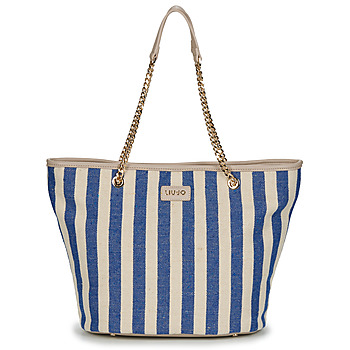 Bolsos Mujer Bolso shopping Liu Jo SICURA XL TOTE Beige / Azul