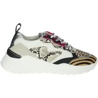 Zapatos Mujer Zapatillas bajas Meline 7071 Blanco/Fucsia
