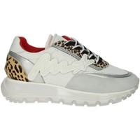 Zapatos Mujer Zapatillas bajas Meline 1700 Blanco/Argent