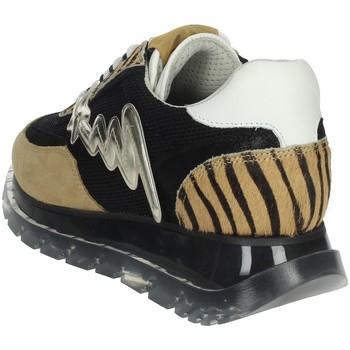 Meline 1700 Negro/Marrón Taupe - Zapatos Deportivas bajas Mujer 9660