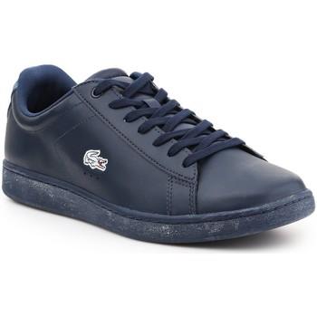Zapatos Hombre Zapatillas bajas Lacoste Carnaby Evo 7-30SPM400711C azul marino