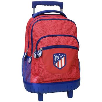 Bolsos Niños Mochila / Cartera con ruedas Atletico De Madrid MC-241-ATL Rojo