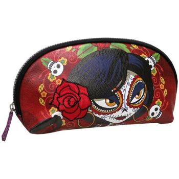 Bolsos Mujer Neceser Catrinas NC-20-CT Rojo