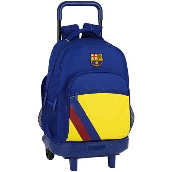 Bolsos Niños Mochila / Cartera con ruedas Fc Barcelona 612025918 Azul