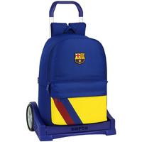Bolsos Niños Mochila / Cartera con ruedas Fc Barcelona 612025860 Azul