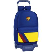 Bolsos Niños Mochila / Cartera con ruedas Fc Barcelona 612025313 Azul