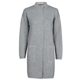 textil Mujer Abrigos Benetton 1132E9071-507 Gris