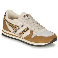 Zapatos Mujer Zapatillas bajas Gola DAYTONA SAFARI Cebra / Camel