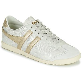 Zapatos Mujer Zapatillas bajas Gola BULLET LIZARD Beige / Oro