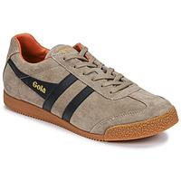 Zapatos Hombre Zapatillas bajas Gola HARRIER Beige / Marino