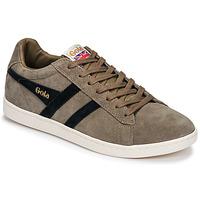 Zapatos Hombre Zapatillas bajas Gola EQUIPE SUEDE Beige / Marino