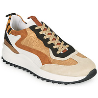 Zapatos Mujer Zapatillas bajas Ikks BS80205 Blanco / Beige