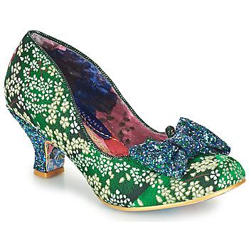 Zapatos Mujer Zapatos de tacón Irregular Choice DAZZLE RAZZLE Verde / Azul