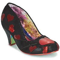 Zapatos Mujer Zapatos de tacón Irregular Choice HEART ON YOUR SLEEVE Negro