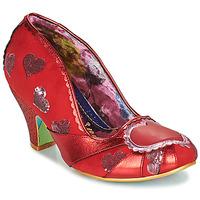 Zapatos Mujer Zapatos de tacón Irregular Choice HEART ON YOUR SLEEVE Rojo
