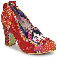 Zapatos Mujer Zapatos de tacón Irregular Choice MATRYOSHKA MEMORIES Rojo