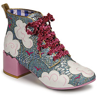 Zapatos Mujer Botines Irregular Choice HEAD IN THE CLOUDS Azul / Rosa