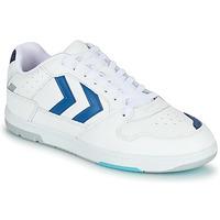 Zapatos Hombre Zapatillas bajas Hummel POWER PLAY Blanco / Azul
