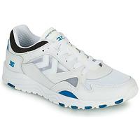 Zapatos Hombre Zapatillas bajas Hummel EDMONTON 3S LEATHER Azul
