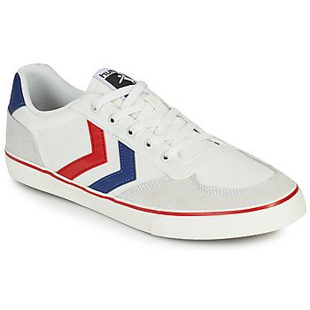 Zapatos Hombre Zapatillas bajas Hummel STADIL LOW OGC 3.0 Blanco / Azul / Rojo