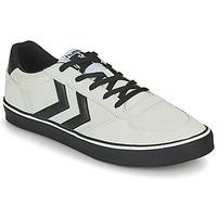 Zapatos Hombre Zapatillas bajas Hummel STADIL 3.0 SUEDE Beige / Negro