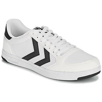 Zapatos Hombre Zapatillas bajas Hummel STADIL LIGHT CANVAS Blanco