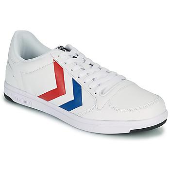 Zapatos Hombre Zapatillas bajas Hummel STADIL LIGHT Blanco / Azul / Rojo