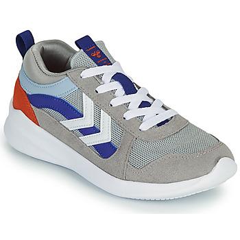 Zapatos Niños Zapatillas bajas Hummel BOUNCE JR Gris / Azul