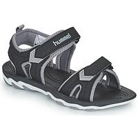 Zapatos Niños Sandalias de deporte Hummel SANDAL SPORT JR Negro