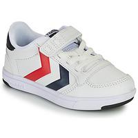 Zapatos Niños Zapatillas bajas Hummel STADIL LIGHT QUICK JR Blanco