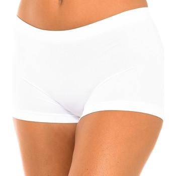Ropa interior Mujer Shorty / Boxer Intimidea Boxer mujer Panty Florida Blanco