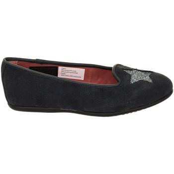 Zapatos Niña Bailarinas-manoletinas Tommy Hilfiger Manoletinas de piel Tommy Hilfiger Azul