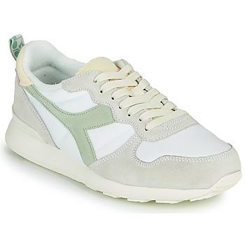 Zapatos Mujer Zapatillas bajas Diadora CAMARO ICONA WN Blanco / Verde