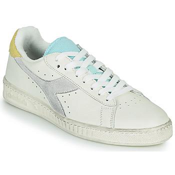 Zapatos Mujer Zapatillas bajas Diadora GAME L LOW ICONA WN Blanco / Azul