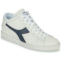 Zapatos Zapatillas altas Diadora GAME L WAXED ROW CUT Blanco