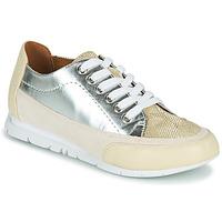 Zapatos Mujer Zapatillas bajas Karston CAMINO Beige / Plateado
