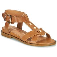 Zapatos Mujer Sandalias Karston SOCAS Camel