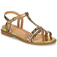 Zapatos Mujer Sandalias Karston SOREN Oro