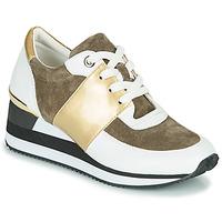 Zapatos Mujer Zapatillas bajas Karston SILMON Blanco / Oro