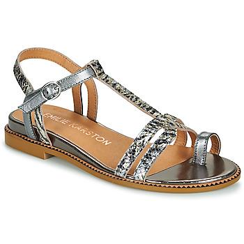 Zapatos Mujer Sandalias Karston SOREN Plateado