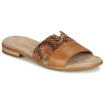 Zapatos Mujer Zuecos (Mules) Karston XAPLINA Marrón