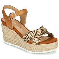 Zapatos Mujer Sandalias Karston LABON Marrón / Oro