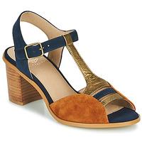 Zapatos Mujer Sandalias Karston LILIAN Marrón / Marino